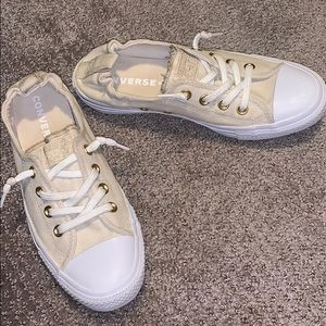 "Converse ""Shoreline"" shoes in khaki - size 8.5 W"